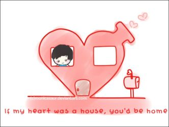 If my heart was a house. by monicasaur