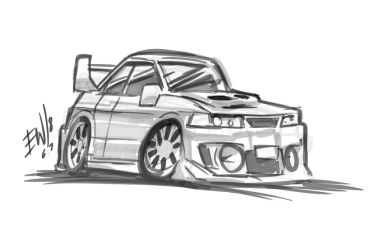 Car Toon - DRS Request 6718 by EryckWebbGraphics