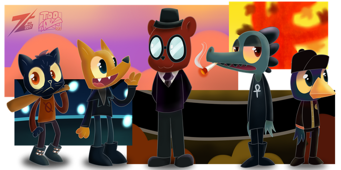 [COLLAB] NITW - The Gang by ZoomTorch20
