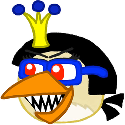 Rage Birds RPG- The Director Evil Empress Laughing by Mario1998