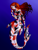 Koi Mermaid by ratopiangirl