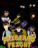 Fazbear's Fright Comic Cover by DesteryZombieBunny