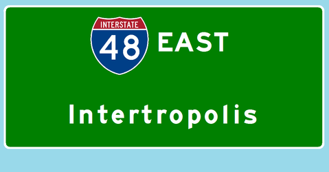 Interstate 48 east to Intertropolis by Interstate48