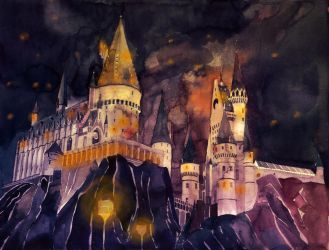 Hogwarts School of Witchcraft and Wizardry by takmaj