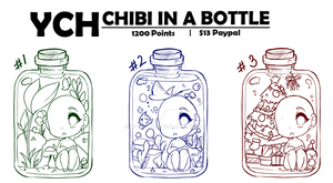 [YCH] Chibi In A Bottle - Closed by WitoruniP