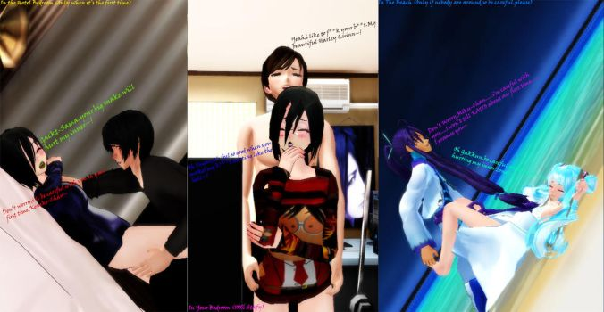 MMD - My Three Ways of Have Intercouse by Sheila-Sama-15