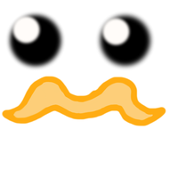 Mustache by fantagerocks2013