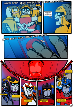 Transformers: Bloodline PAGE 18 by KingRebecca