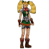 Chrono Cross HD: Orlha, the gladiatrix barkeep. by 2PlayerWins