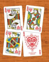 Mythical Gods Card Deck - Greek Gods by martianpictures