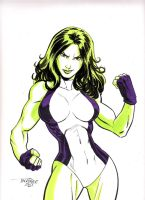 She Hulk by Scott Dalrymple by GordonWildhurst