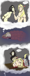 Comic: Sweet Dreams by gilll