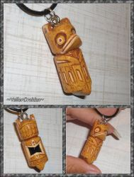 Until Dawn - Fortune Totem Charm Necklace - 2 by YellerCrakka