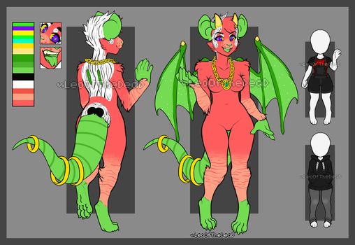 Reference sheet Commission (1/2) by Leo-Adopt