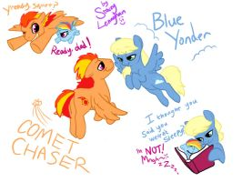 Comet Chaser and Blue Yonder by ShadeySix