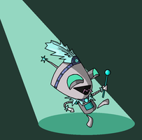 Gir Goes Crazy Broadway Style by nehdeen