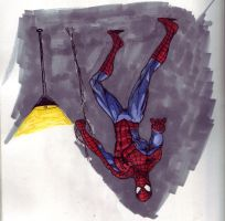 spidey doodle by megamike75