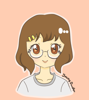 Cartoon Me (or Manga style me) by YoungDoodler