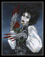 Erik Scissorhands by MadameGiry