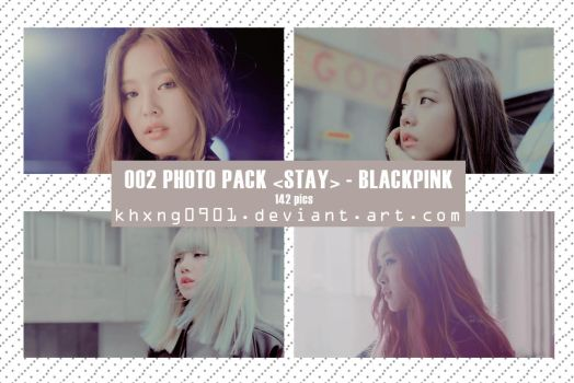 OO2 PHOTO PACK [STAY] - BLACKPINK BY KHXNG0901 by khxng0901