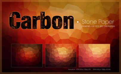 Carbon Stone Paper Pack by amadis33
