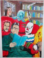 Stephen King Caricature by craigcermak