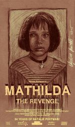 Drawing Mathilda Movie Poster by AngelinaBenedetti