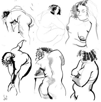 Life Drawings by Jebriodo