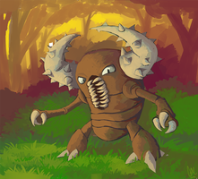 Pinsir by DrManiacal