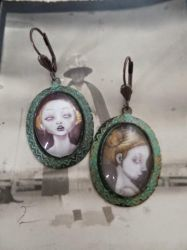Sissies Verdigris Earrings by Ank0lie