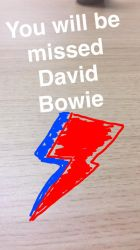 We Will Remember Bowie by Collioni69