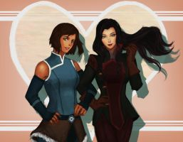 Korrasami~~~! by thewordlesssignature