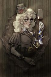 Steampunk girl by Rick-Lee