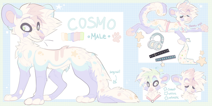 Cosmo Reference 2018!! by cometcrumbs