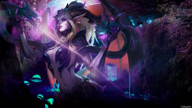 The Forest Holds Many Surprises (Zyra Wallpaper) by Gallagxher