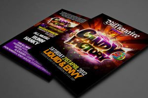 Candy Factory flyer design by Dannygdesigns