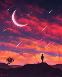 Falling Stars - Day #241 by AngelGanev