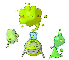 Nuclear Fakemon by Smiley-Fakemon