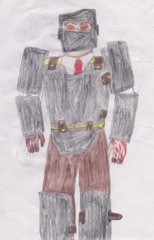 Bioshock OC: Armored Splicers by thisnameisclaimedbyI