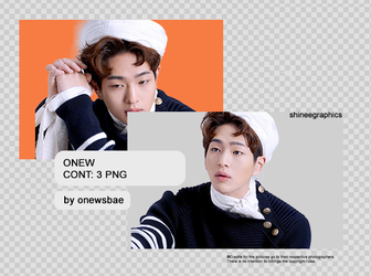 Onew | pack png by SHINeeEditions