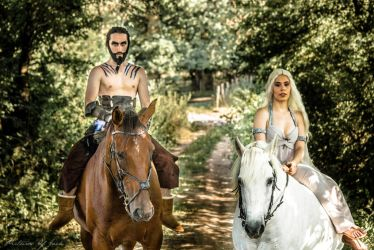 Daenerys Targarien And Khal Drogo | cosplay by E2cosplay
