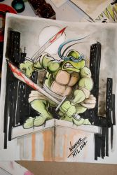 TMNT Leo by Noumier