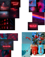 [CLOSED] Red And Blue Aesthetics by Alises-Adopts