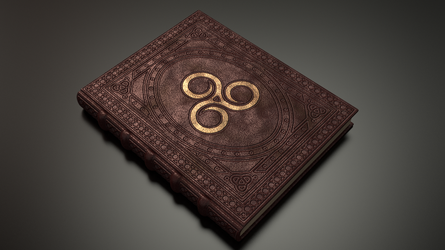 Spell Book - Livre de sort - TES (internal work) by Etrelley