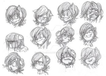 Sally Expressions by Bonka-chan