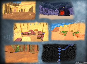 [MMD] Agrabah - DL! by Otzipai-Art
