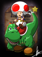 Sheriff Toad by BourneLach