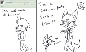 Ask Us - Foxy: Cool As Fudge by Maria-Ben