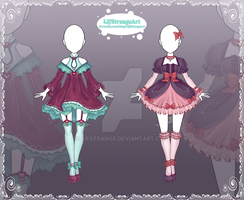 [Close] Adoptable Outfit Auction 144-145 by LifStrange