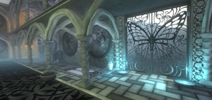 Butterfly Gate - Screenshot by sandbox-alchemy